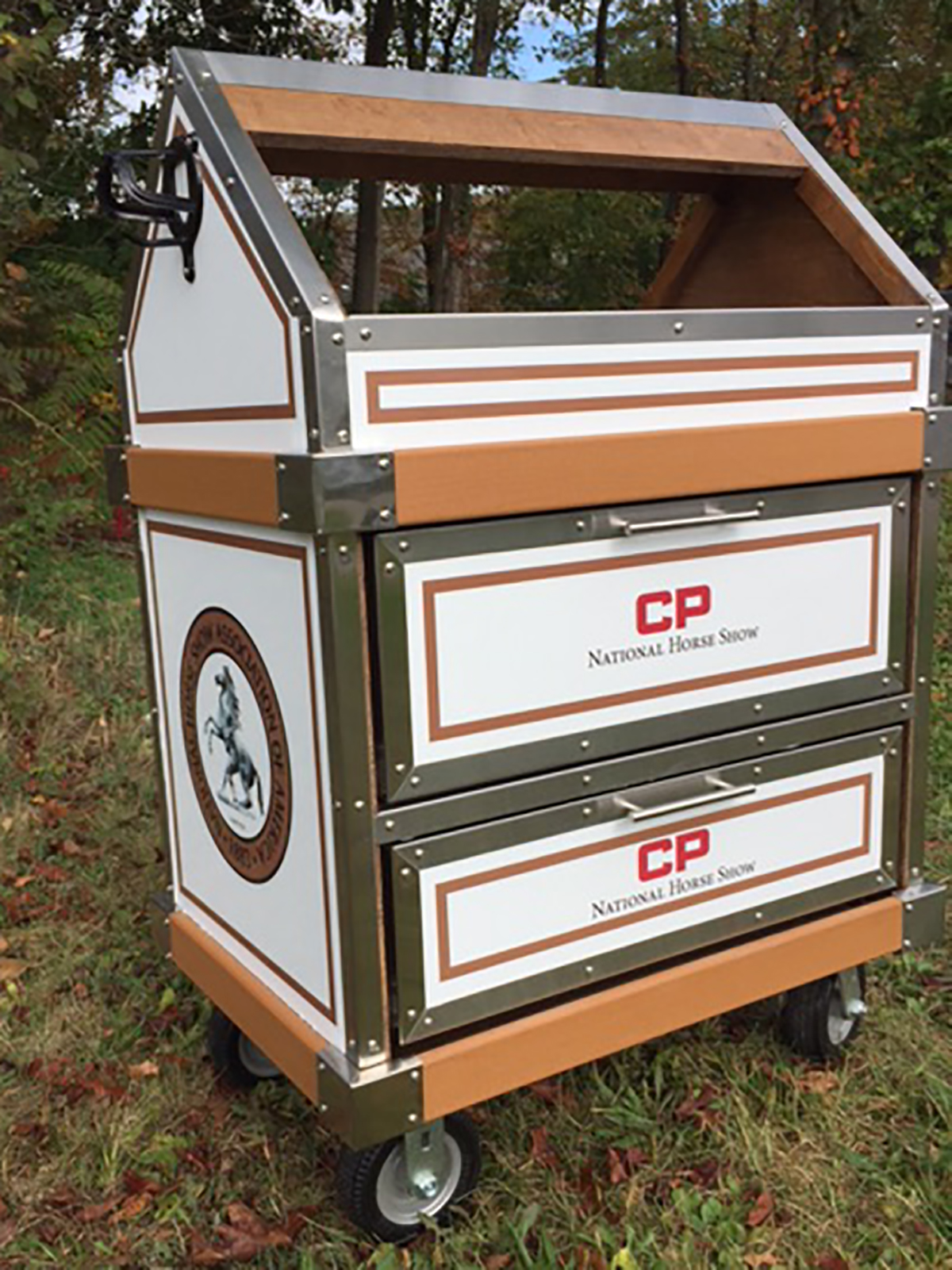 Top Jock Tack Boxes Heads to World Equestrian Center and National Horse Show This Month